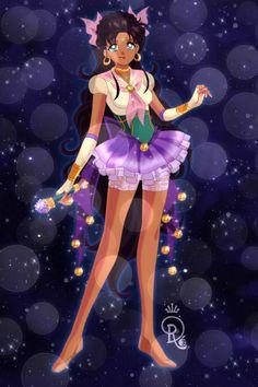 Another Sailor Esmeralda... ~ by Saundra_Banks ~ created using the Sailor Senshi doll maker | DollDivine.com