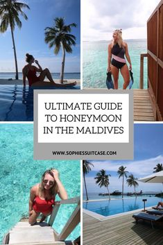 ULTIMATE GUIDE TO HONEYMOON IN THE MALDIVESHeading off on a honeymoon in The Maldives? Then this guide is for you – packed full of information about my recent trip to The Maldives. A Maldives honeymoon is the ultimate goal for many married couples a Maldives All Inclusive, Maldives Tour, Maldives Vacation, Maldives Honeymoon, Visit Maldives, Honeymoon Spots, Maldives Resort, Honeymoon Packages, Romantic Honeymoon