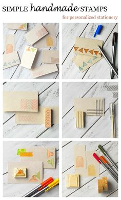 DIY: simple handmade stamps