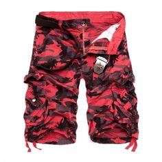 2018 Hot Camouflage Cargo Mens Shorts Summer Casual Cotton Military Camo Workout Bermuda Shorts For Men Baggy Shorts, Work Shorts, Camo Shorts, Casual Shorts, Men Shorts, Mens Camouflage Shorts, Work Casual, Men Casual, Short Niña