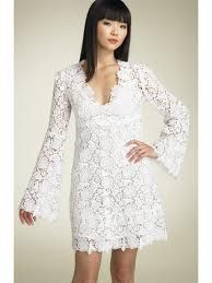 2012 New Long Sleeve White Lace Knee Length Bridal Dress Custom V Neck Short Wedding Dress White Lace Dress Short Lace Wedding Dress, Wedding Dress Sleeves, Bridal Lace, Wedding Lace, Wedding Gowns, Crochet Wedding, Bridal Gown, Bridal Shoes, Wedding Bride