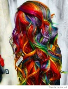 Dream rainbow hair inspiration