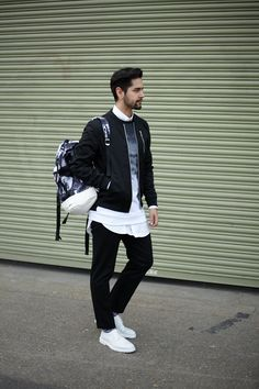 Asos Street style. White and marble accessories are filling up my wardrobe this season. Click the link to shop this look. http://asos.do/Ku0F3n
