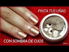 tutorial uñas estilo zebra eyeshadow co sombras para los ojos.wmv - YouTube