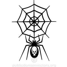Spider net vector clip art   Public domain vectors