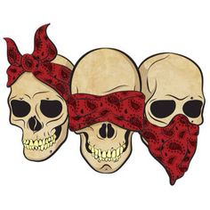 Hear no evil, see no evil, speak no evil - would make a cool tattoo if thats your kind of thing