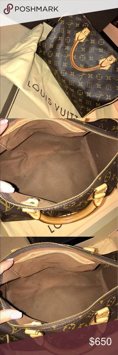 LOUIS VUITTON SPEEDY 30 No signs of wear! PRICE IS FIRM.  Comes with box and dust bag! Louis Vuitton Bags Satchels