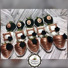 50 And Fabulous, Chocolate Covered Strawberries, Birthday Favors, Mini Cupcakes, Sweet Treats, Strawberry, Business Ideas, Desserts, Food