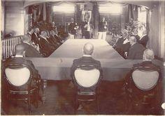 Opening van de Staten 1907 Paramaribo Bron: suriname-dasilva.blogspot.nl