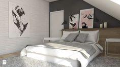 Sypialnia styl Minimalistyczny Sypialnia - zdjęcie od A2 STUDIO pracownia architektury