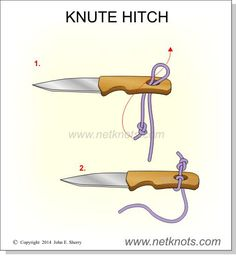 timber hitch knot instructions