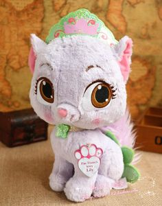 $19.99 (Buy here: https://alitems.com/g/1e8d114494ebda23ff8b16525dc3e8/?i=5&ulp=https%3A%2F%2Fwww.aliexpress.com%2Fitem%2FPrincess-Palace-Pets-Ariel-s-Kitty-Treasure-Large-Plush-Toy-30cm%2F32525708395.html ) Princess Palace Pets Tiana's Kitty Lily Large Plush Toy 30cm for just $19.99
