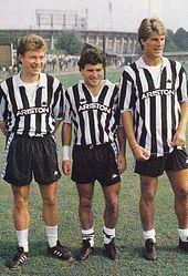 Gli stranieri della Juventus 1988-89: Zavarov, Rui Barros e Laudrup.