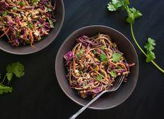 Peanut and Soba Noodle Slaw - KCET Food