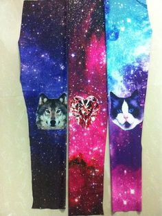 I can only presume there is not enough acid to fully appreciate the glory of cat-wolf-jewelheart galaxy leggings.