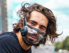 Diy Mask, Diy Face Mask, Face Masks, Glass Shield, Maskcara Beauty, Industrial Design Sketch, Full Face Mask, Cool Inventions, Fashion Face Mask