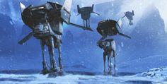 ArtStation - ILM Star wars competition, Jesper Andersen
