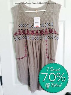 Free People Embroidered Top Free People Embroidered Top - April Find #6