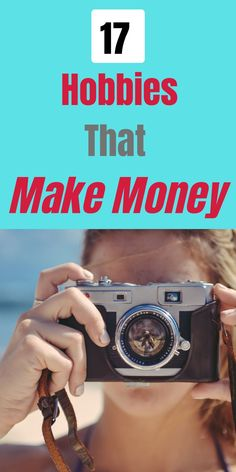 17 Hobbies That Make Money - Time and Pence Hobbies To Try, Hobbies That Make Money, Way To Make Money, Make And Sell, How To Make, Earn Extra Income, Extra Money, Earn Money From Home, Earn Money Online
