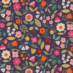 Textile Patterns, Cool Patterns, Flower Patterns, Print Patterns, Embroidery Patterns, Textiles, Surface Pattern Design, Pattern Art, Abstract Pattern