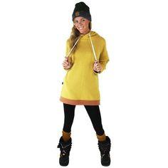 Women's Amber Side Zipper Hoodie #amber #cf-size-l #hoodie