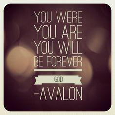lyrics from the song: Still My God by CCM group, Avalon.