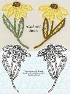 bobbin lace flowers [The Lace Museum] Needle Tatting, Tatting Lace, Needle Lace, Lace Flowers, Crochet Flowers, Crochet Lace, Crochet Unique, Bruges Lace, Romanian Lace