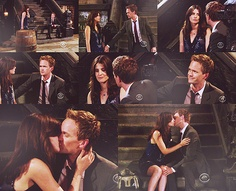 Barney and Robin Movie List, Movie Tv, Ted And Tracy, Barney And Robin, Marshall And Lily, How Met Your Mother, Katniss And Peeta, Himym, Movie Couples