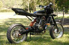 KTM 520 EXC-RTracker by Brendan Forrest