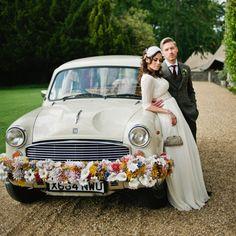 Kushi Cars Indian Ambassador Wedding Car Hire in Gloucestershire Bridal Car, Bridal Shoot, Wedding Shoot, Wedding Car Hire, Wedding Rentals, Dream Wedding, Aynhoe Park, Wedding Car Decorations, Park Weddings