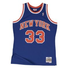 69ac993f661 Mitchell   Ness Swingman NBA Jersey - New York Knicks - Ewing -  91-
