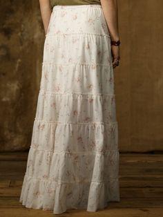4523e5adb8 Tiered Prairie Skirt - Denim & Supply Sale - RalphLauren.com Modest  Skirts,
