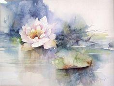 Resultado de imagen para watercolor paintings of flowers