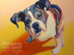 Paintings With Soul - portraits by Kimberly Kelly Santini, commissions available
