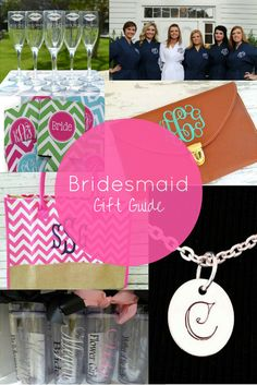 13 personalized bridesmaid gift ideas