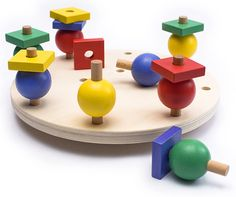 Torno Torno, creative wooden baby and toddler toy. At finewoodentoys.com