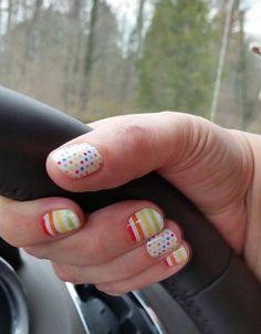 Clowning Around - Jamberry Nails http://nailsinharmony.jamberry.com