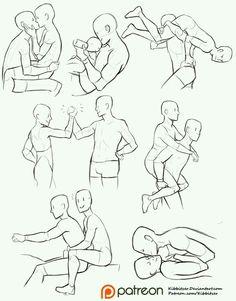 Sheet pose ref fma drawing couple poses, couple poses reference, kissing re Drawing Base, Manga Drawing, Figure Drawing, Body Drawing, Character Reference Sheet, Drawing Reference, Anatomy Reference, Reference Images, Poses References