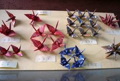 Renzuru The Advanced Origami Technique Of Folding Multiple Cranes With A Single Sheet Paper