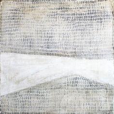 """Première neige, Karine Léger  Acrylique sur panneau de bois– 2012  36"""" x 36"""""""