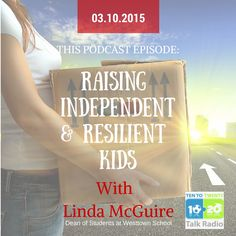 linda mcguire covers raising independent and resilient kids