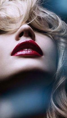 Red lipstick More