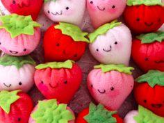 Plush Strawberries OMG adorable!