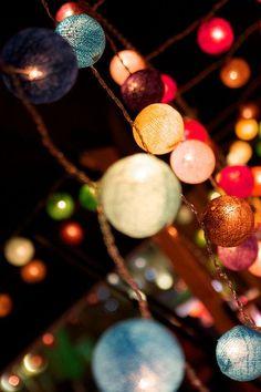 lampion multicolore