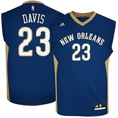 Anthony Davis 23 New Orleans Pelicans NBA Youth Road Jersey Youth Large  1416    Click c01be6536