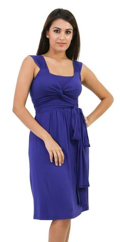 Gorgeous wrap Spring/Summer #nursing and #maternity #dress. On SALE for $59!