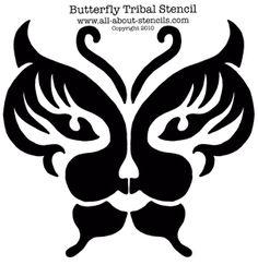 airbrush tattoo stencil   Airbrush Tattoo Stencils, Tribal Stencils and Free Stencils!