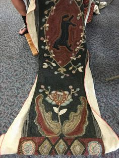 A great gathering yesterday, busy busy hookers. Rugs done, in the works, and a big pile of rugs ready to go to the Sauder Rug Show. Hope to ...