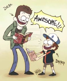 Gravity Falls,фэндомы,Dipper Pines,GF Персонажи,GF Арт,GF art,Supernatural,Сверхъестественное,сериалы