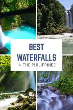 You'll be surprised by how enchanting and majestic these waterfalls are. These 20 are the best waterfalls in the Philippines that you can explore! Zamboanga City, Kawasan Falls, Nature View, Philippines Travel, Natural Resources, Fall Photos, Day Tours, Natural Wonders, Waterfalls